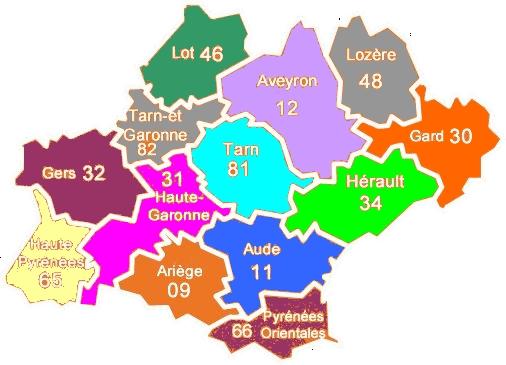 Région d'Occitanie